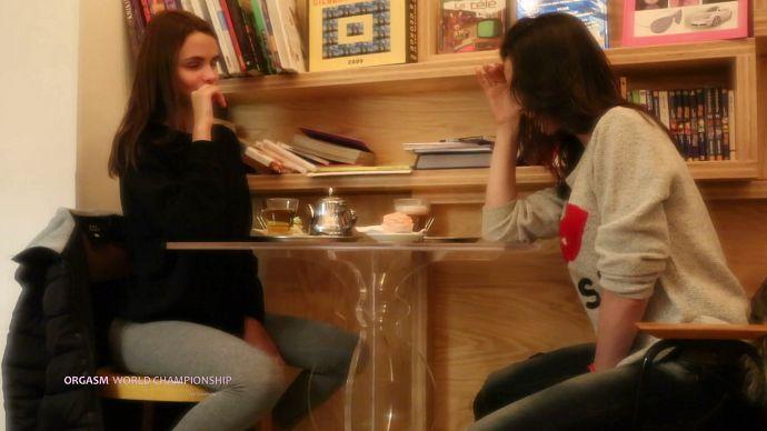 OrgasmWorldChampionship - Public Match - Ariel VS Olivia Y - idols
