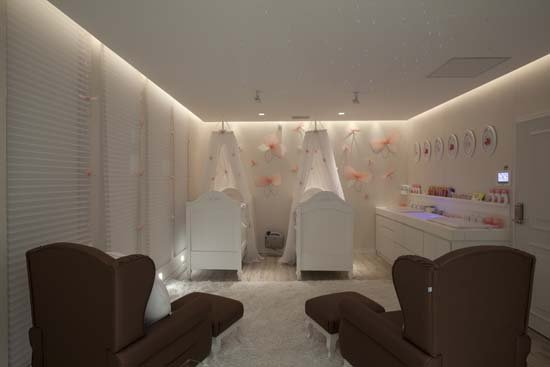 cuarto para gemelas o dormitorios para mellizas bebes via