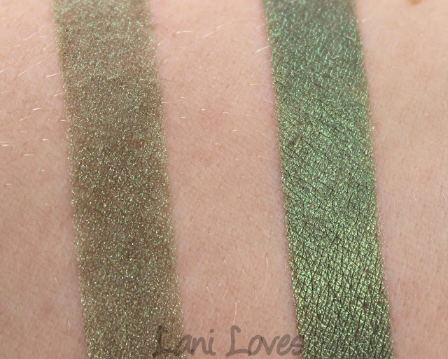 Notoriously Morbid Plant eyeshadow swatches & review