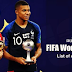 Full List of Award Winner FIFA World Cup 2018 Awards