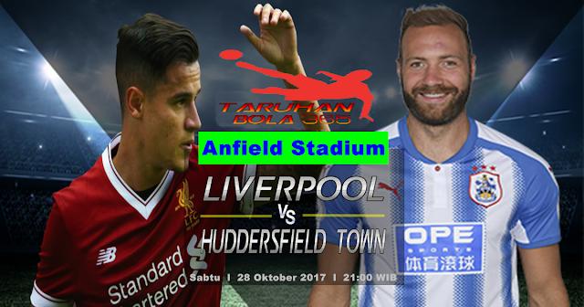 Prediksi Taruhan Bola 365 - Liverpool vs Huddersfield Town 28 Oktober 2017