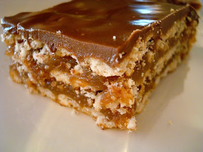 Caramel Chocolate Crunch Bar