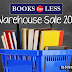 Books For Less Warehouse Sale | 2016