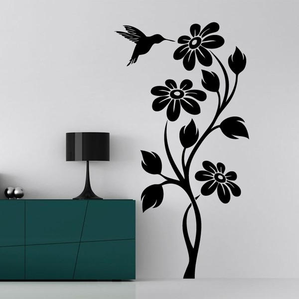 Flowers on The Wall 6