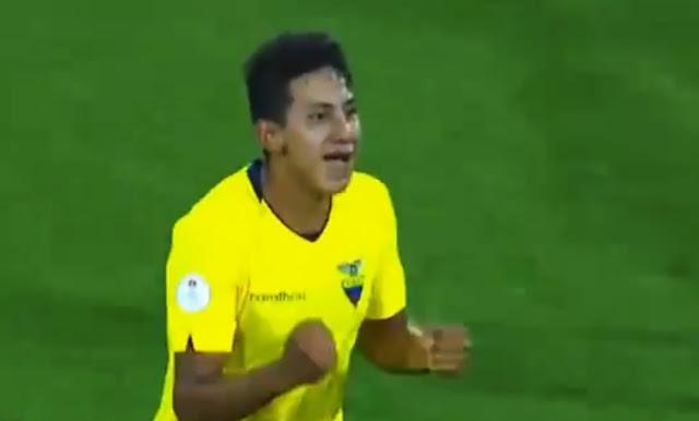 Mejía Carrasco - Ecuador al Mundial Sub 17