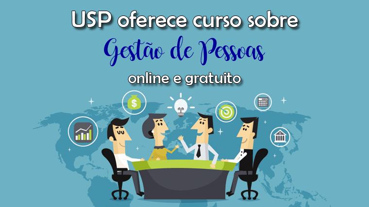 USP oferece curso online e gratuito sobre Gestão de Pessoas