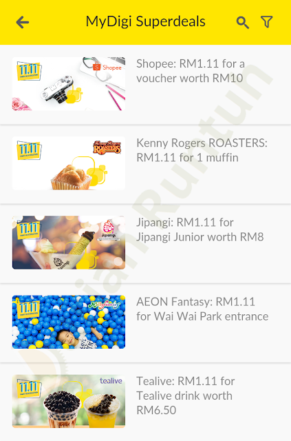 MyDigi App Super Deals Discount Voucher Promo