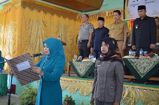 TP PKK Sitiung dan TP PKK Kecamatan Pulau Punjung Dilantik