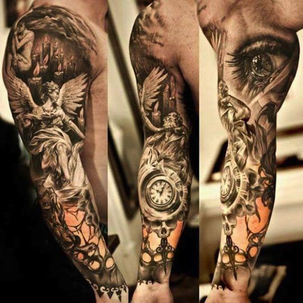 20 Tatuajes de brazos para hombres y mujeres a todo color Muy Hobby