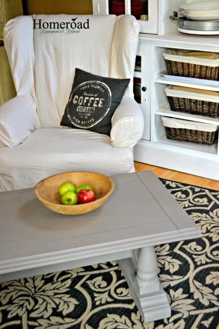 DIY The RH Coffee Table Look