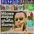 HAYA HAPA MAGAZETI YA LEO JUMANNE MACHI 6,2018 -NDANI NA NJE YA TANZANIA