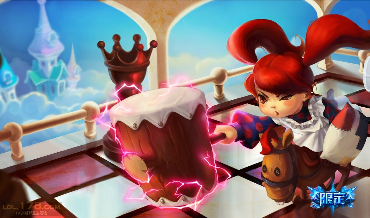 League Of Legends Poppy Wallpaper: Poppy League Of Legends Wallpaper, Poppy Desktop Wallpaper