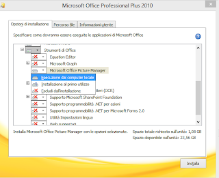 scaricare installare picture manager office 2016 2013 windows 7 8 10