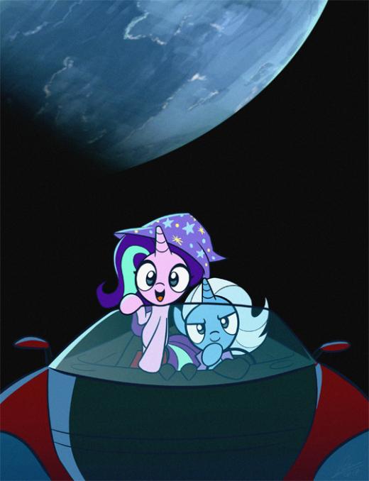 Starlight Trixie by Dori-to pony