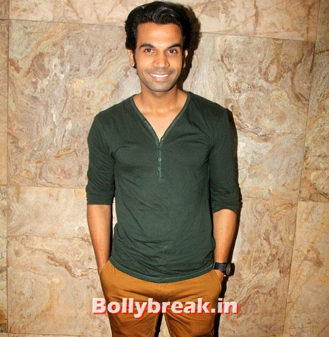 Rajkumar Rao, Huma Qureshi & Others at Hawaa Hawaai Special Screening at Lightbox