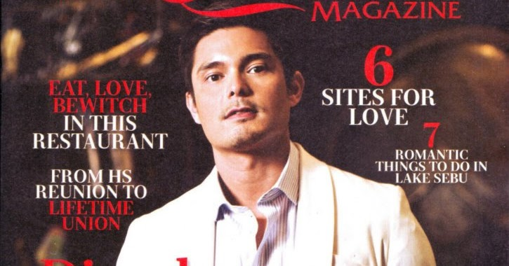 Turtz on the Go: Dingdong Dantes Covers Sunday Inquirer ...