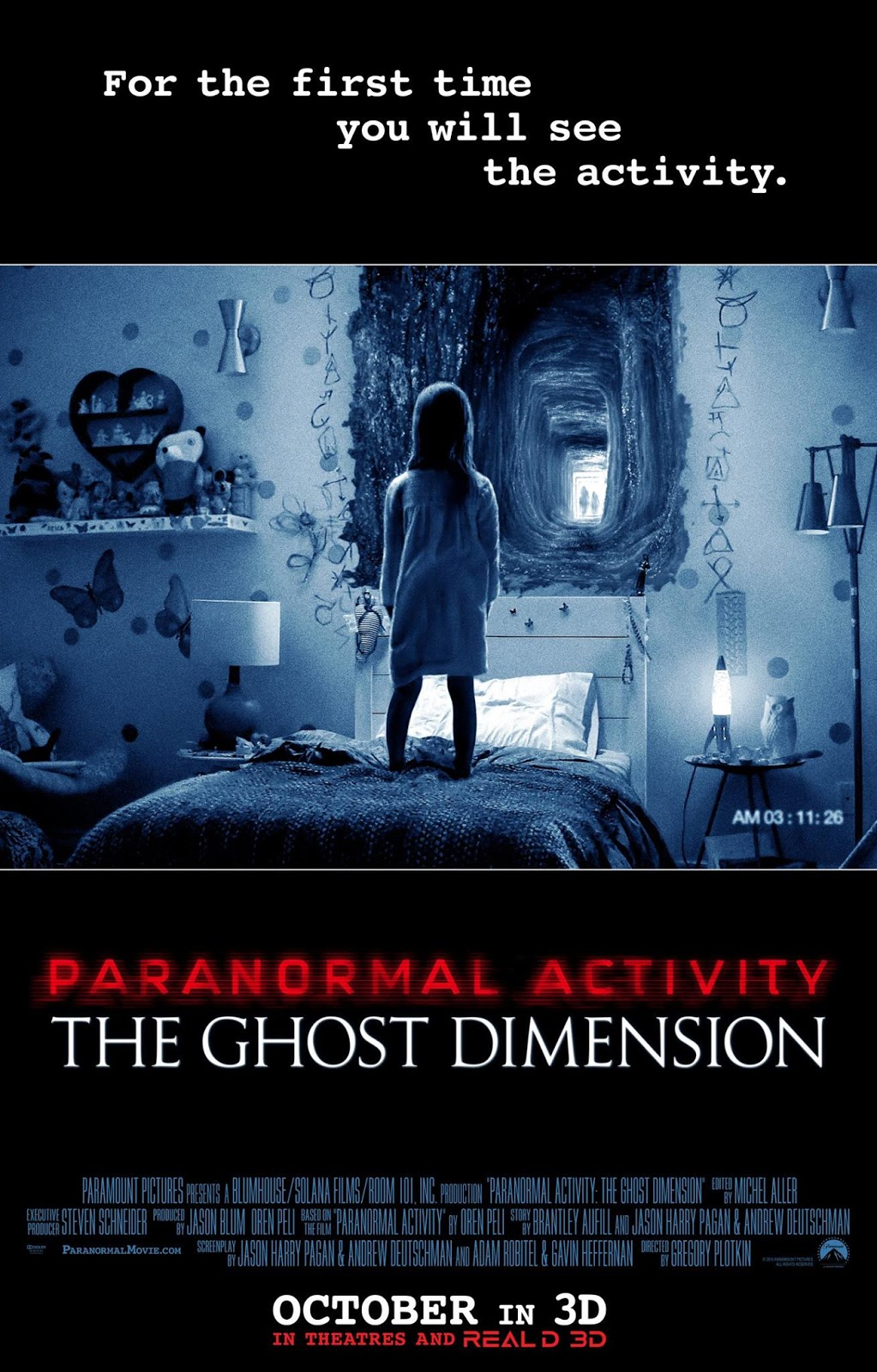 PARANORMAL ACTIVITY THE GHOST DIMENSION (2015) THEATRICAL CUT เรียลลิตี้ขนหัวลุก มิติปีศาจ