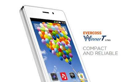 Harga dan Spesifikasi Evercoss Winner T A74A