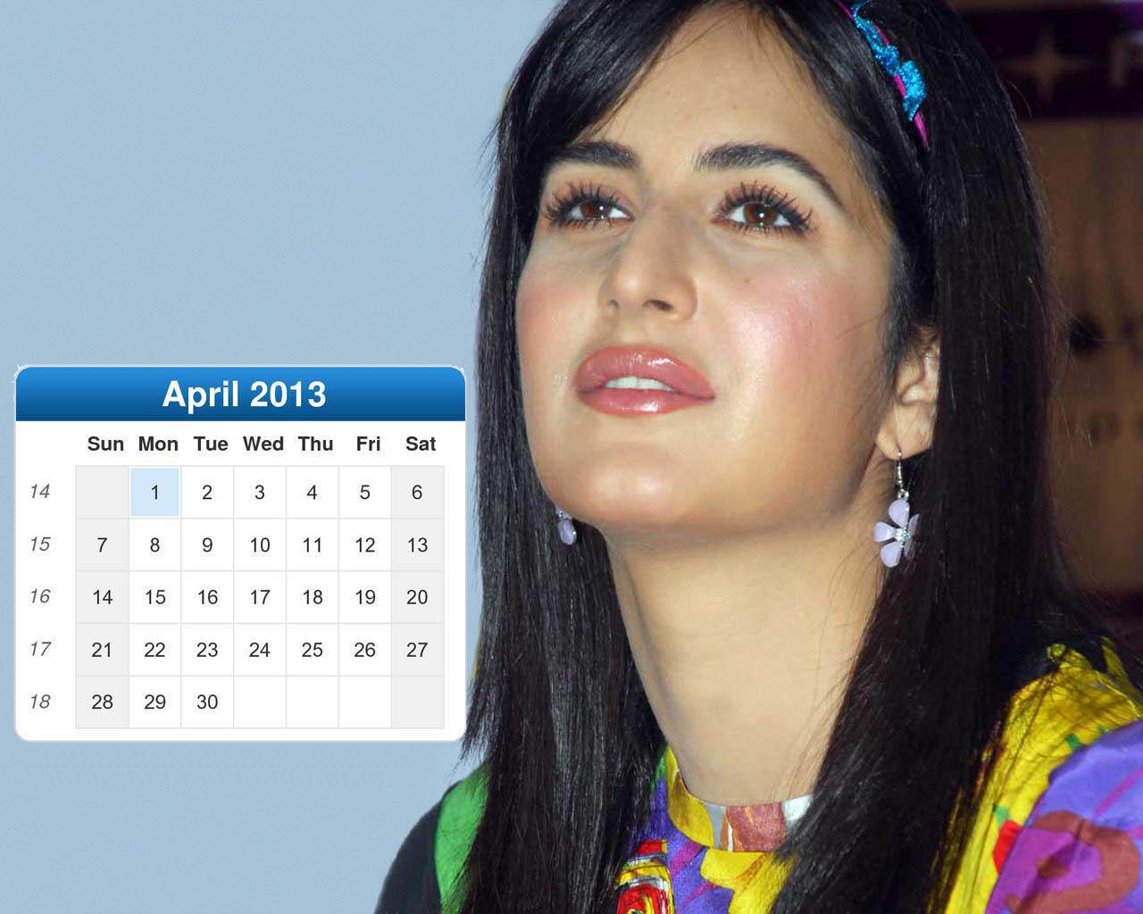 Katrina Kaif Desktop Calendar 2013: Beautiful Gift for New ...