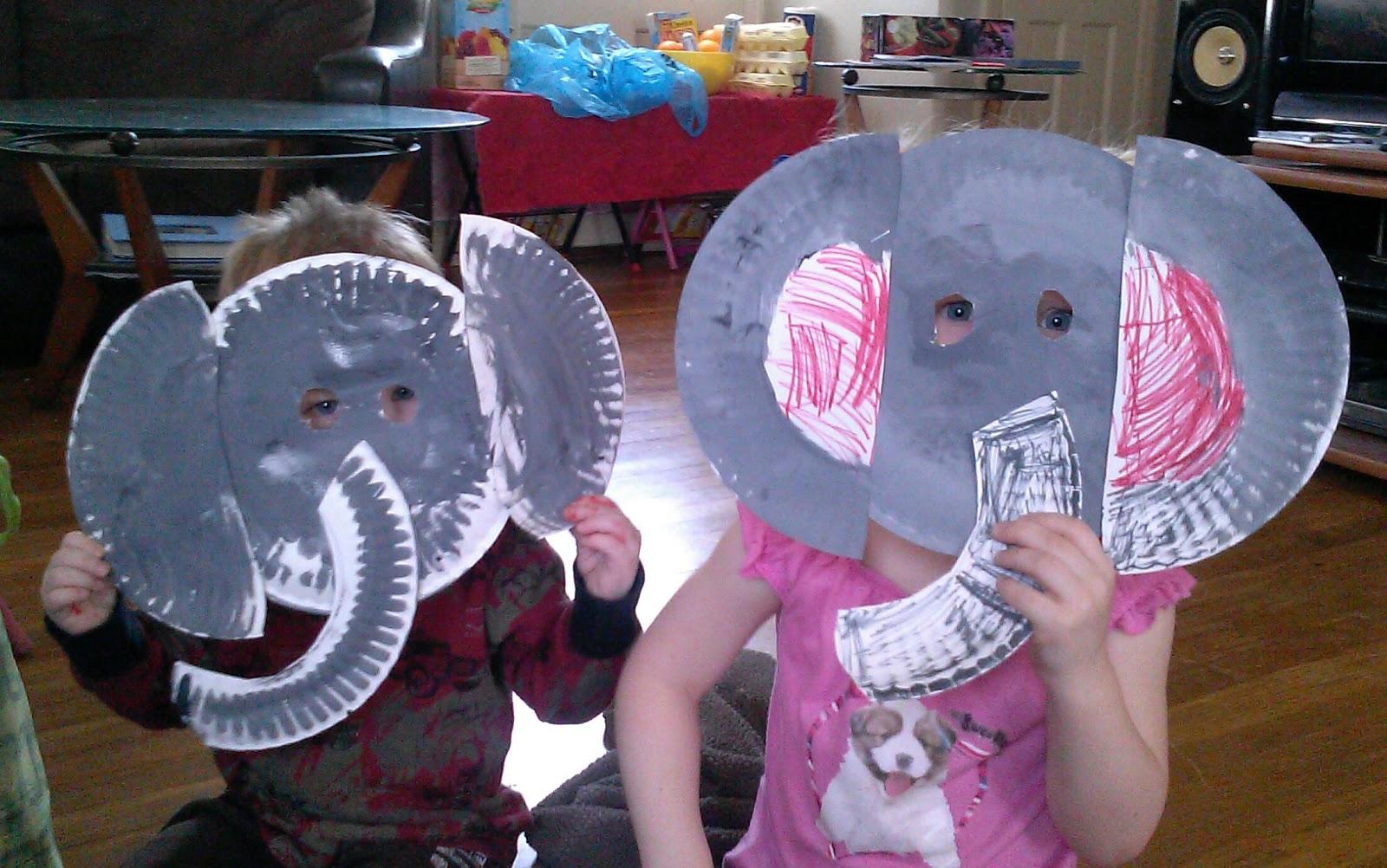 Elephant Paper Plate Craft