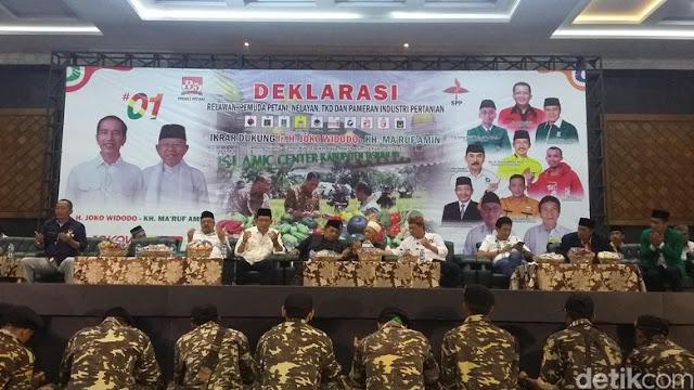 Hadir di Tasikmalaya, Mbah Maimoen Zubair Ajak Petani Pilih Jokowi