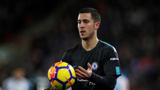 Hazard Tolak Perpanjangan Kontrak Dari Chelsea Demi Madrid