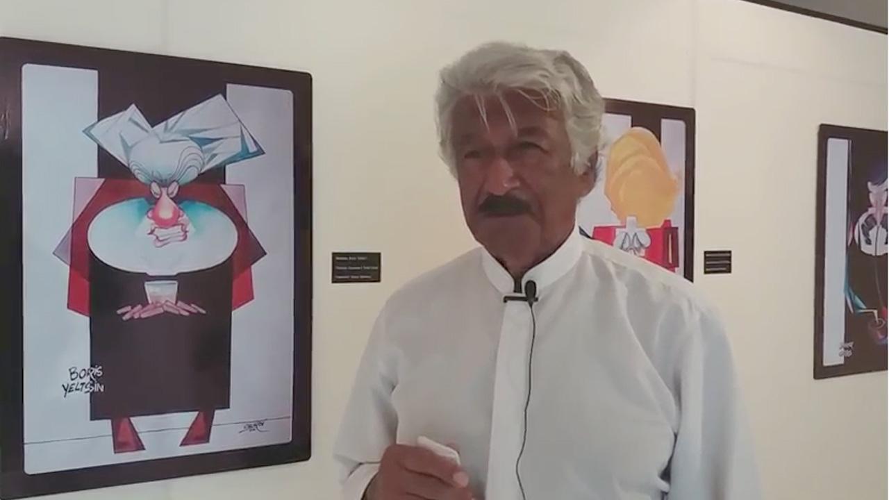 """2entesmagazin arte y cultura II Charlando con... José Arlés Herrera """"Calarcá"""" - """"Rastreando Rostros"""""""