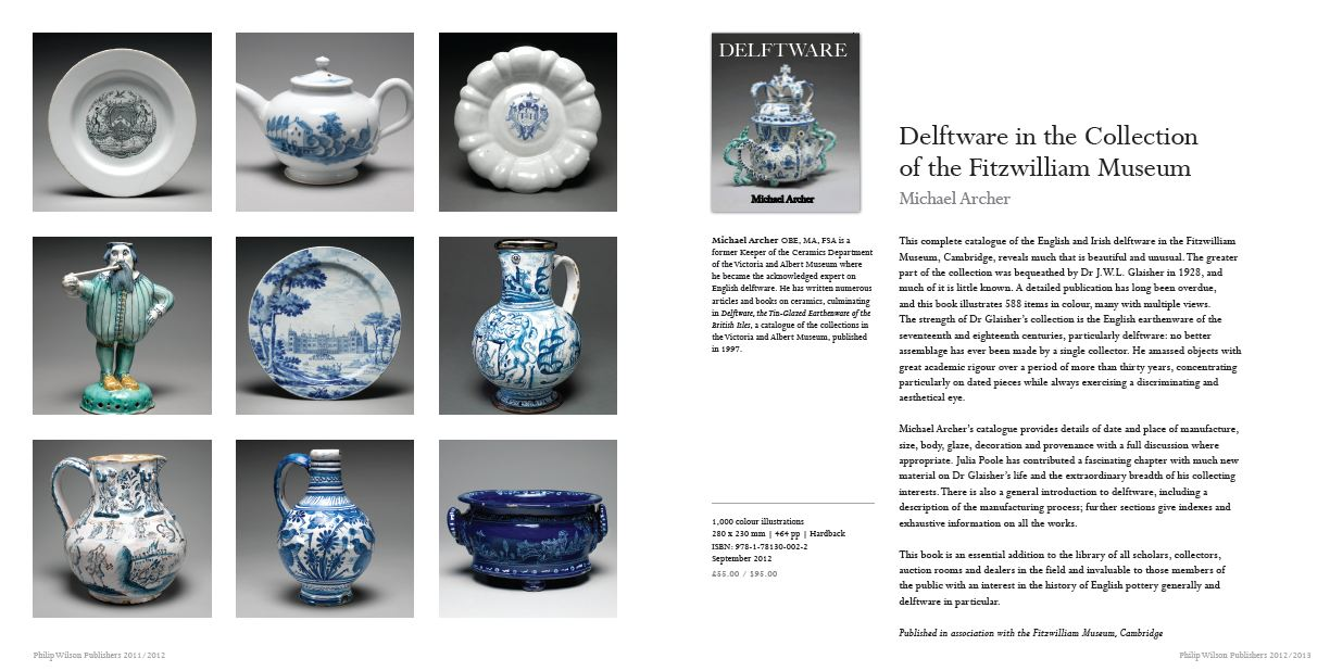 Ceramics Network: New Delftware publication from the