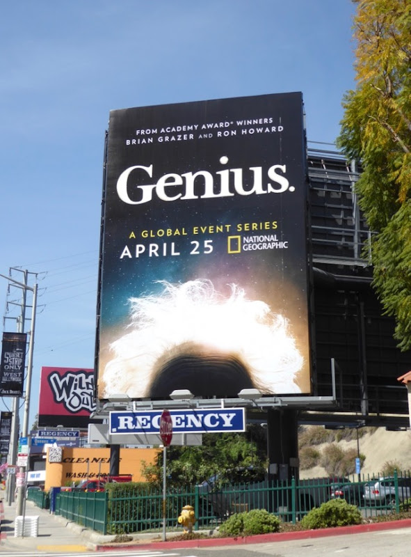 Genius season 1 teaser billboard