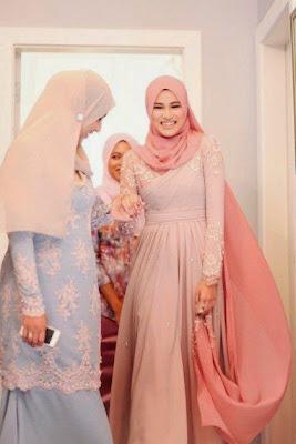 Hijab Modern Untuk Kebaya Muslim Simple