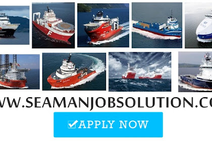 Able seaman, Oiler, Messman, Cook For Offfshore Vessels