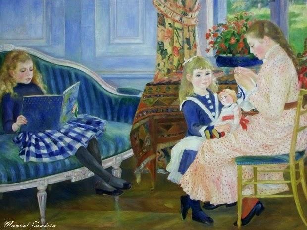 Berlino, Galleria Nazionale Alte, Auguste Renoir, Pomeriggio delle bambine a Wargemont