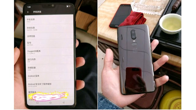 OnePlus 6 Leaked Images Show iPhone X-Like Notch and Vertical Dual Camera Setup