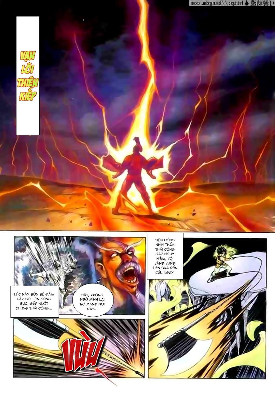 Cơ Phát Khai Chu Bản chapter 115 trang 3