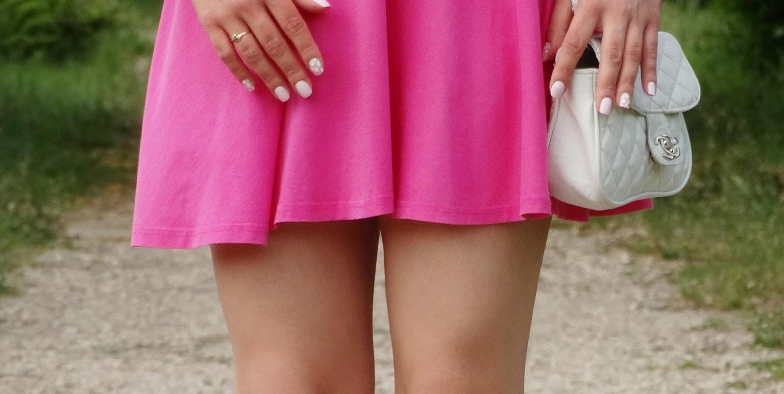 De mon côté de la vie: pink dress ideal for heat