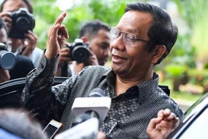 Mahfud MD: Saya Harus Minta Maaf karena Memuji Orang Aceh?