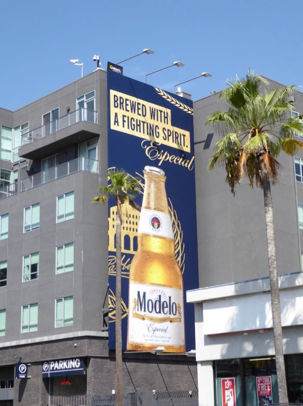 Modelo Brewed fighting spirit billboard