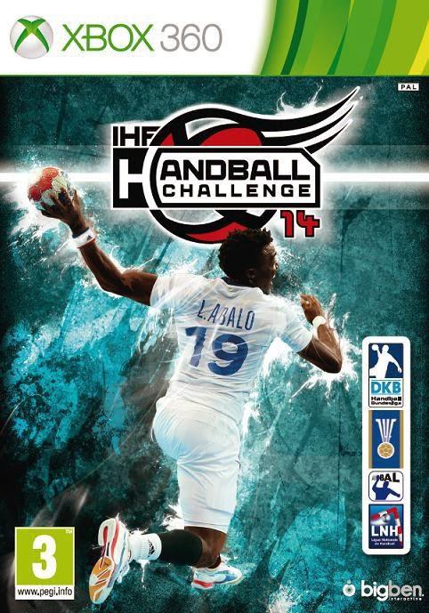 Cover Caratula IHF Handball Challenge 14 XBOX 360