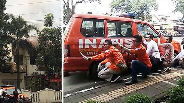 Breaking News : Bom Rakitan Meledak di Taman Pandawa Kota Bandung , Ini Tuntutannya Sebelum Ledakkan bom.