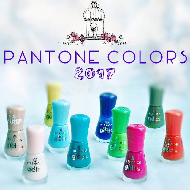 essence gel nail polish - Pantone Color Fashion Report 2017