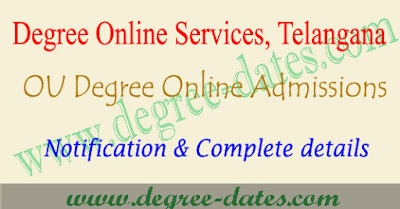 Dost OU degree admissions 2019 online application web options