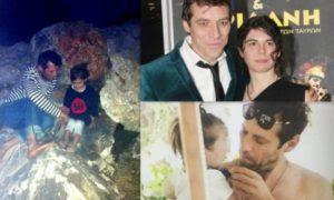 Ο διάσημος έλληνας ηθοποιός που κάνει διακοπές με την οικογένειά του σε εγκαταλελειμμένο βαγόνι στη Χαλκιδική