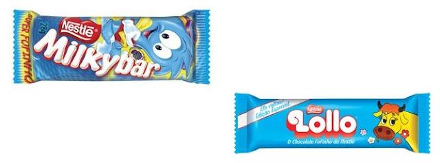 Os chocolates fofinhos da Nestlé