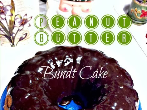 12 Days of Christmas yummies & treats : Peanut Butter Bundt Cake