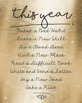 New Year Phrases and Images