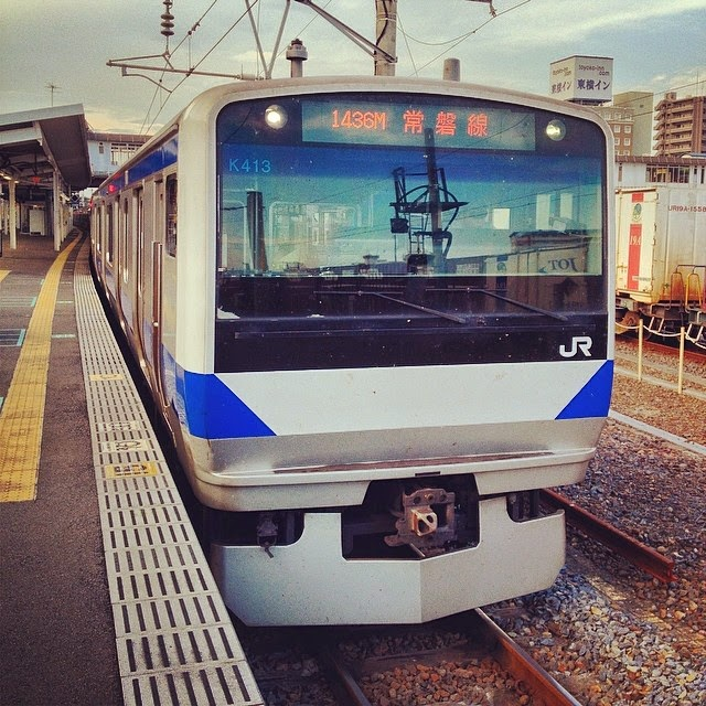 Joban Line ordinary train.