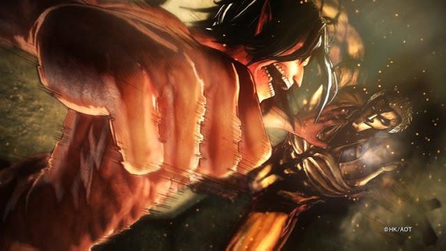 الكشف عن حزمة صور جديدة للعبة Attack on Titan 2