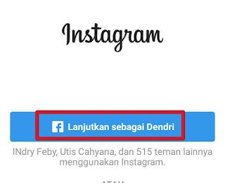Cara Masuk Instagram Lewat Facebook Dengan Hp Android
