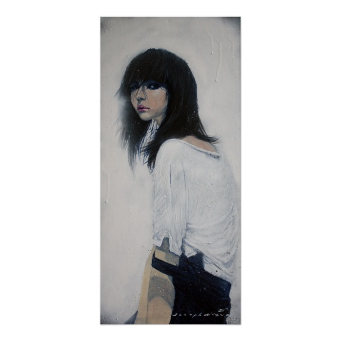 Scarlett - Contemporary Art Portrait