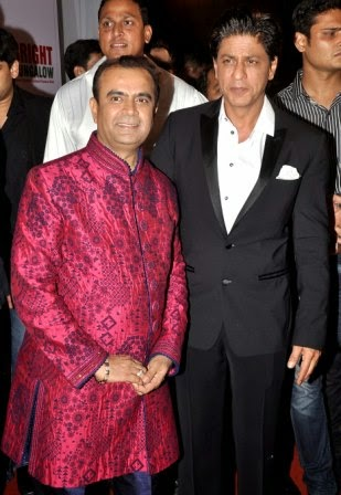 Yogesh Lakhani celebrates his birthday party with actors and friends at The Lalit,Andheri
